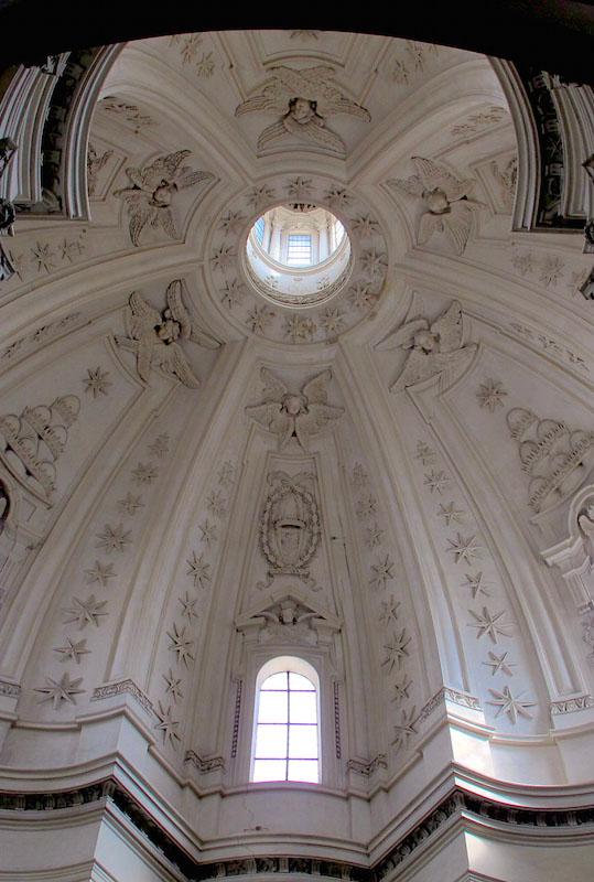 S. Ivo alla Sapienza–interior