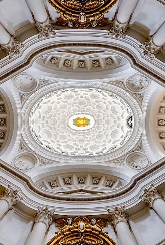 S. Carlo alle Quattro Fontane–interior