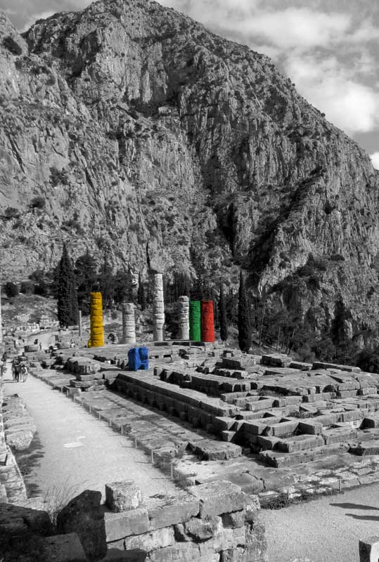 Temple of Apollo - The dark web